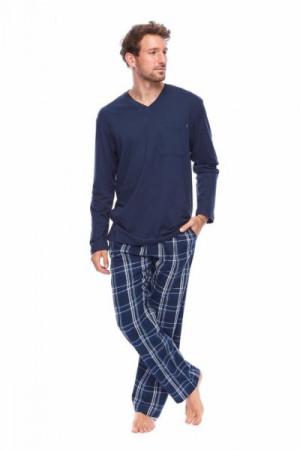 Rossli SAM-PY-162 II Pánské pyžamo XXL tmavě modrá