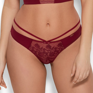 Tanga VIP ROMANCHIC bordo