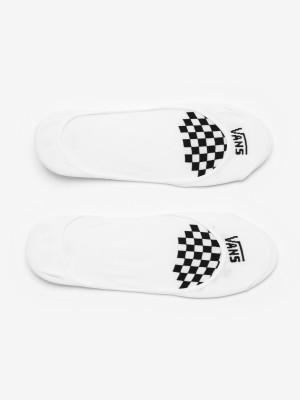 Ponožky Vans Wm Girly No Show 1-6 White/Black Černá