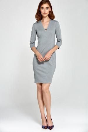 Dámské šaty S92 - Nife  šedá