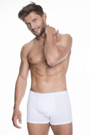 Pánské boxerky Julimex Iron M-2XL bílá
