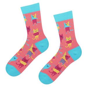 Dámské ponožky Soxo 3139 Good Stuff  mátová 35-40