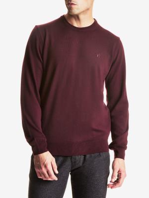 Svetr Trussardi Round Neck Regular Fit Pure Wool Barevná