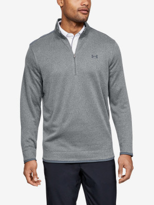 Mikina Under Armour Sweaterfleece 1/2 Zip-Gry Šedá