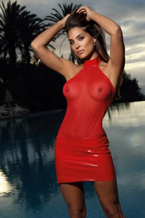 Sexy šaty model 137943 Axami
