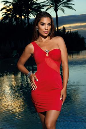 Sexy šaty model 137946 Axami