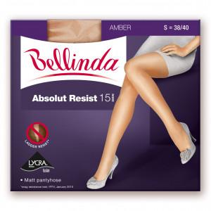 Punčochové kalhoty ABSOLUT RESIST 15 DEN - BELLINDA - černá 44-48 (L)