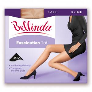 Punčochové kalhoty FASCINATION 15 DEN - BELLINDA - bronzová 38-40 (S)