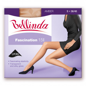 Punčochové kalhoty FASCINATION 15 DEN - BELLINDA - amber 38-40 (S)