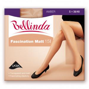 Punčochové kalhoty FASCINATION MATT 15 DEN - BELLINDA - bronzová 44-48 (L)