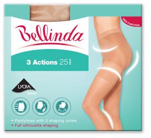 Punčochové kalhoty 3 ACTIONS TIGHTS - BELLINDA - černá 44-48 (L)