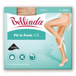 Punčochové kalhoty FIT IN FORM 40 DEN - BELLINDA - amber 44-48 (L)