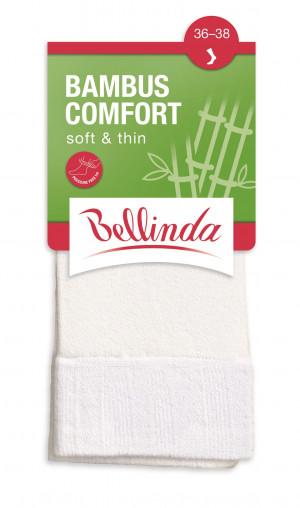 Dámské ponožky BAMBUS COMFORT SOCKS - BELLINDA - bílá 35-38