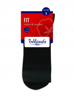 Pánské ponožky FIT (HEALTHY) SOCKS - BELLINDA - černá 39-42