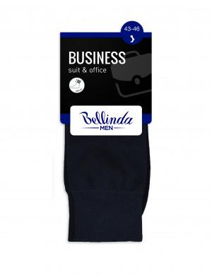 Pánské ponožky BUSINESS SOCKS - BELLINDA - černá 39-42