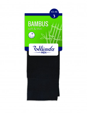 Pánské ponožky BAMBUS SOCKS - BELLINDA - šedá 39-42