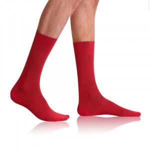 Pánské ponožky BAMBUS COMFORT SOCKS - BELLINDA - oranžová 39-42