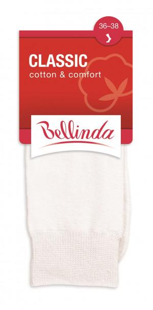 Dámské ponožky CLASSIC SOCKS - BELLINDA - černá 35-38
