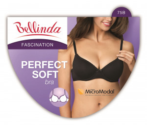 Podprsenka PERFECT SOFT BRA - BELLINDA - off