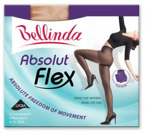 Punčochové kalhoty ABSOLUT FLEX - BELLINDA - černá 44-48 (L)