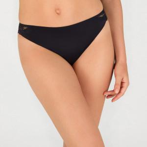 Dámské kalhotky WONDERBRA REFINED GLAMOUR BRAZILIAN - WONDERBRA - černá