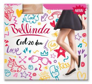 Punčochové kalhoty COOL 20 DEN - BELLINDA - černá 44-48 (L)