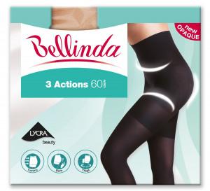 Punčochové kalhoty 3ACTIONS 60 DEN - BELLINDA - černá 44-48 (L)