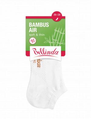Dámské kotníkové ponožky BAMBUS AIR LADIES IN-SHOE SOCKS - BELLINDA - bílá 35-38