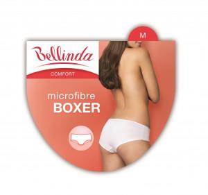 Dámské kalhotky MICRO BOXER - BELLINDA - černá