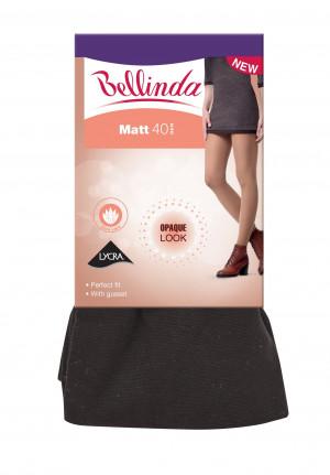 Punčochové kalhoty MATT TIGHTS 40 DEN - BELLINDA - černá 44-48 (L)