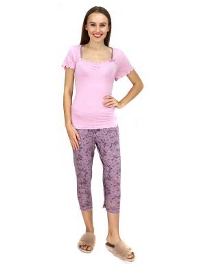 Dámské pyžamo 633-KK růžová - Cocoon Secret růžová