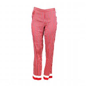 Dámské pyžamové kalhoty QS6067E-MVT červená - Calvin Klein červená