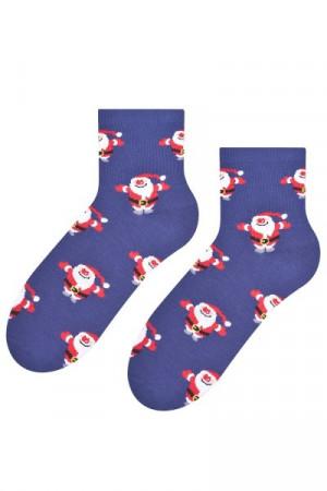 Steven 099-523 Ponožky 35-37 jeans