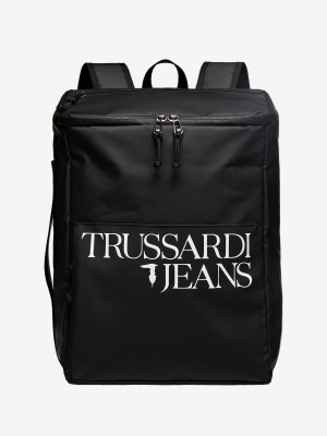 Batoh Trussardi T-Travel Backpack Md Pvc Černá