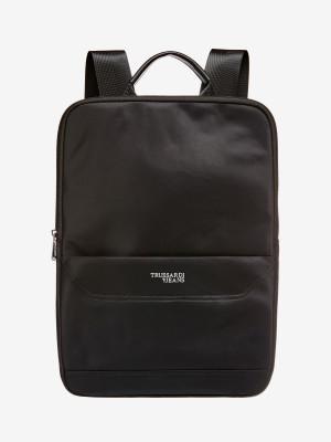 Batoh Trusssardi Business City Backpack Sm Nylon Černá