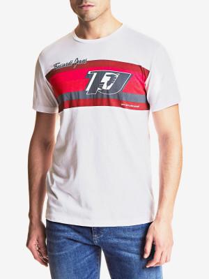 Tričko Trusssardi T-Shirt Cotton Jersey Regular Fit Bílá
