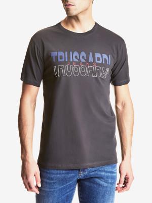 Tričko Trusssardi T-Shirt Cotton Jersey Regular Fit Barevná