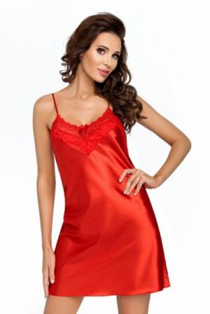 Donna Eva červená Noční košile XXL červená