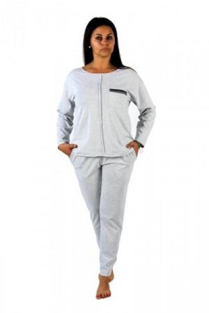 De Lafense 450 Nice Dres - Dámský dres L jeans jasny melanż