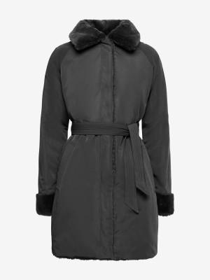 Kabát Geox W Kaula Černá