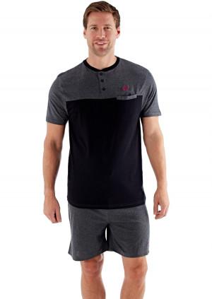 Pánské pyžamo Fordville MN000237 XXL ocelovka