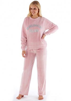 Dámské pyžamo Fordville LN000802 M/L Světle růžová