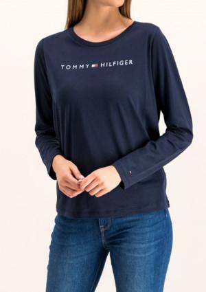 Dámské tričko Tommy Hilfiger UW0UW01910 L Tm. modrá