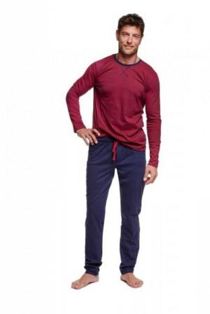 Henderson 37299 Verve Pánské pyžamo XL tyrkysová-tmavě modrá