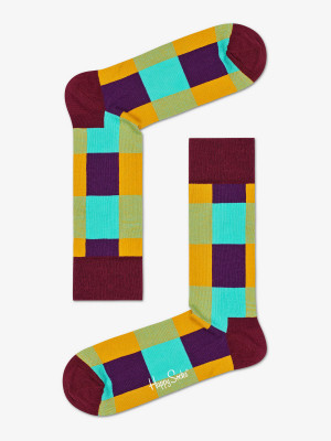 Ponožky Happy Socks Lumberjack Sock M-L (41-46) Barevná
