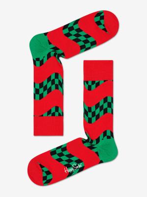 Ponožky Happy Socks Race Sock M-L (41-46) Barevná