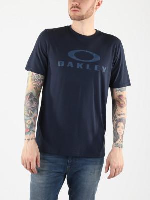 Tričko Oakley O Bark Fathom Modrá