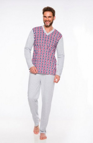 Taro Roman 004 plus '20 Pánské pyžamo 3XL tmavě modrá
