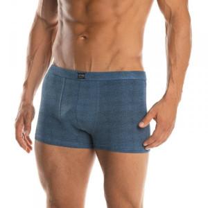 Lama M-895 SZ pánské boxerky M jeans melanž