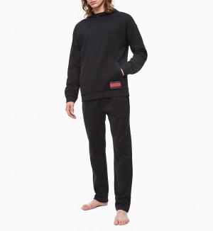 Pánská mikina NM1763E-001 černá - Calvin Klein černá